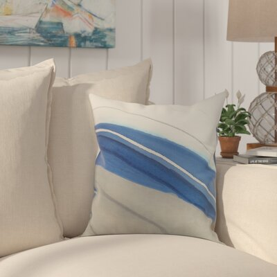 Harriet Boat Throw Pillow Color: Taupe, Size: 26 x 26