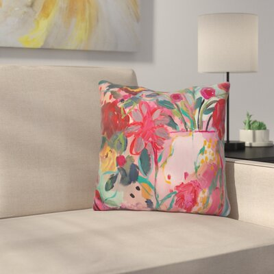 Floral and Botanical VI Throw Pillow