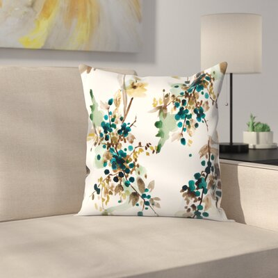 Blueberry Throw Pillow Size: 16 x 16