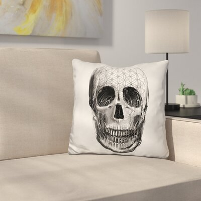 Sac Skull Throw Pillow