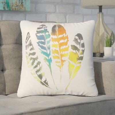 Pinter Feather Throw Pillow