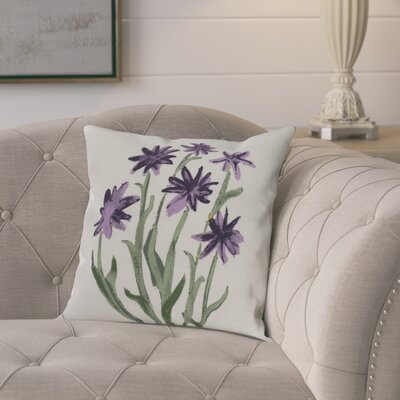 Laymon Decorative Throw Pillow Color: Purple, Size: 26 x 26