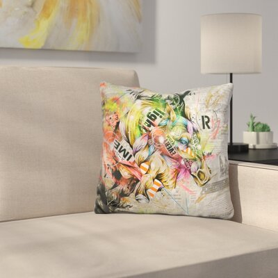 Pulse Throw Pillow