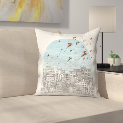 Kedesh Throw Pillow Size: 14 x 14