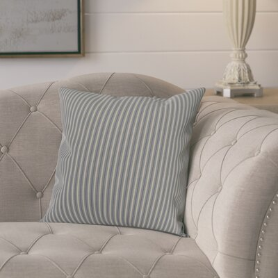 Chavira Decorative Throw Pillow Color: Navy Blue, Size: 18 x 18