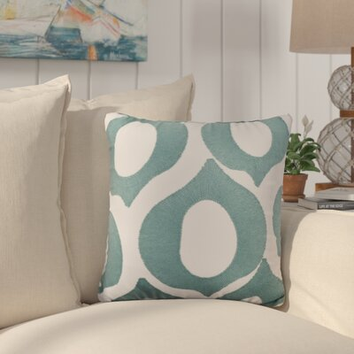 Eastwood Embroidered Cotton Throw Pillow