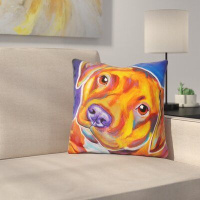Harlem Crop Throw Pillow
