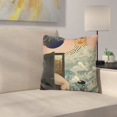 Beyond The Unknown Throw Pillow