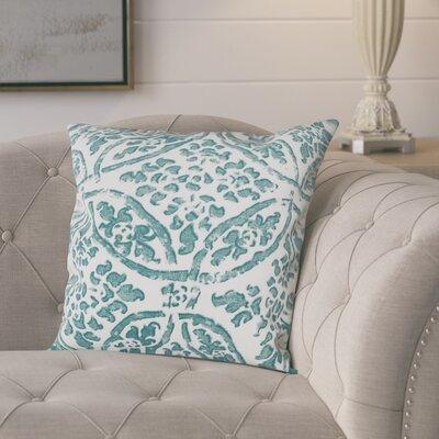 Numan 100% Cotton Pillow Cover Color: Aqua
