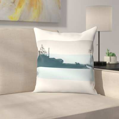 Naxos Throw Pillow Size: 14 x 14