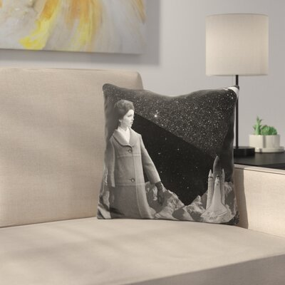Launched Throw Pillow