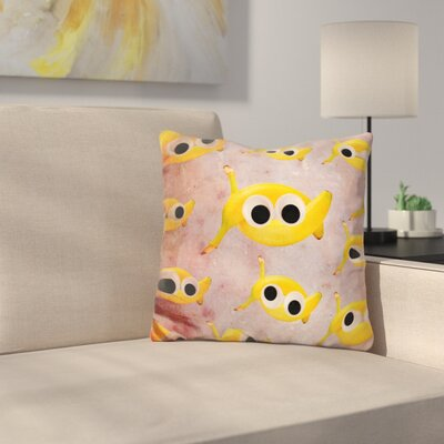 Goin Bananas Throw Pillow
