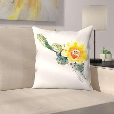 Cactus Throw Pillow Size: 20 x 20