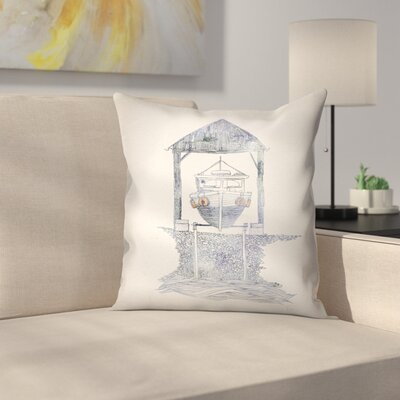 Melvin Throw Pillow Size: 16 x 16