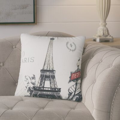 Verona Paris Eiffel Tower Throw Pillow