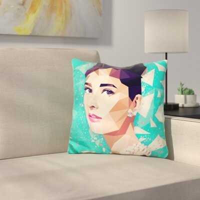 The Hepburn Class Throw Pillow