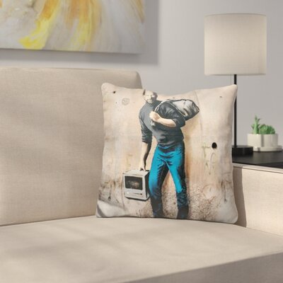 Steve Jobs Throw Pillow
