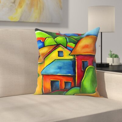 Peru2 Throw Pillow Size: 14 x 14