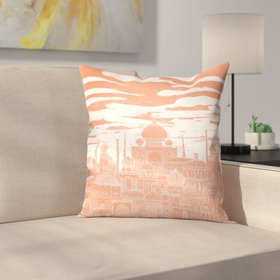 Venus Throw Pillow Size: 16 x 16