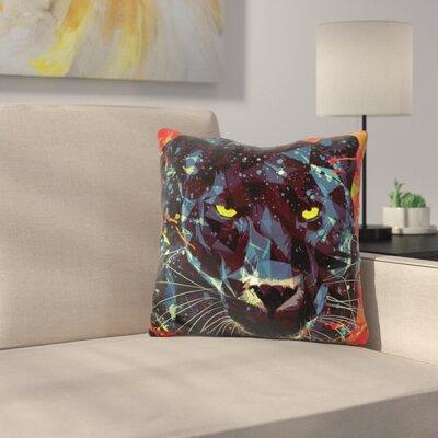 Le Noir Throw Pillow