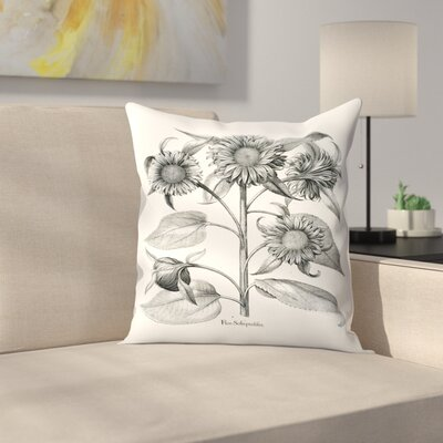 Besler 4 Throw Pillow Size: 14 x 14