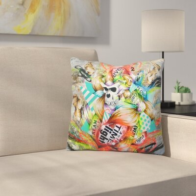 Feral Throw Pillow
