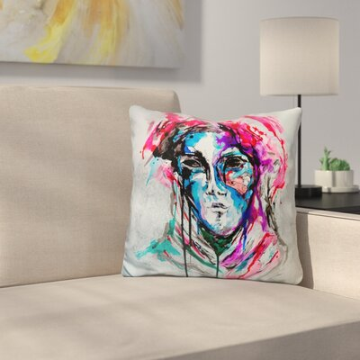 Masq Throw Pillow