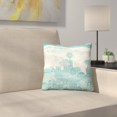 Earth Throw Pillow Size: 16 x 16