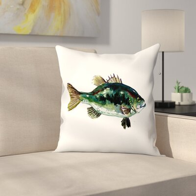 Perch 1 Throw Pillow Size: 16 x 16