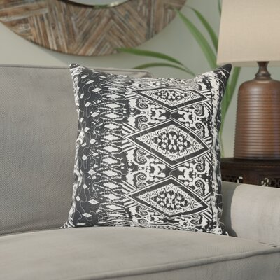 Cathey Diamond Stripes Square Accent Cushion Cover