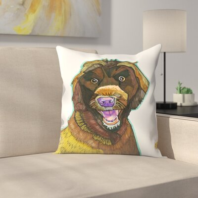 Mary Maglio Cannon Throw Pillow Size: 18 x 18