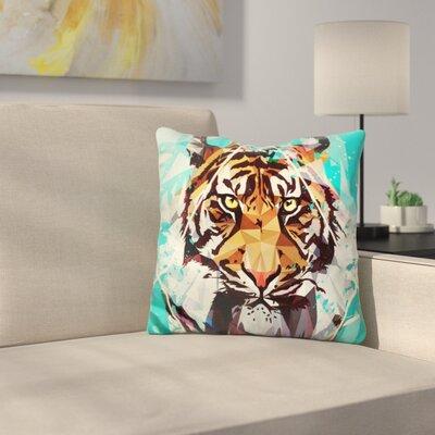 It Tiger Throw Pillow