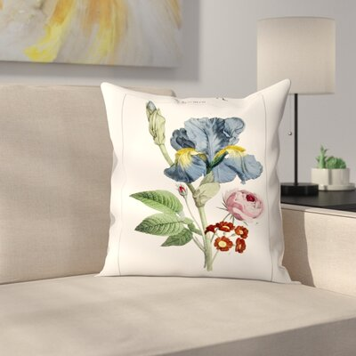 Blumen Throw Pillow Size: 14 x 14