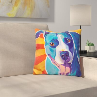 Leesa Ray Throw Pillow