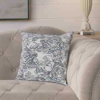 Larraine Cotton Pillow Cover Color: Dark Gray