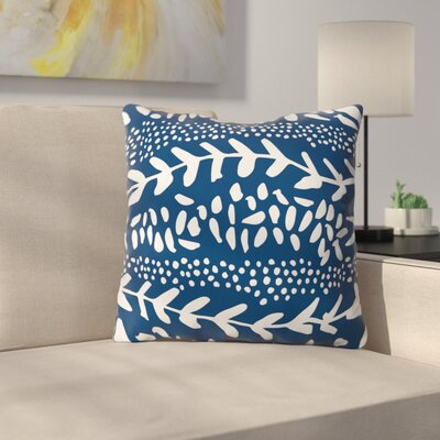 Camilla Foss Throw Pillow Size: 18