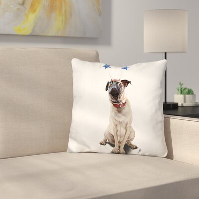 A Pugs Life Throw Pillow