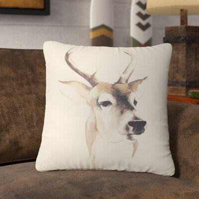 Kyser Deer Throw Pillow