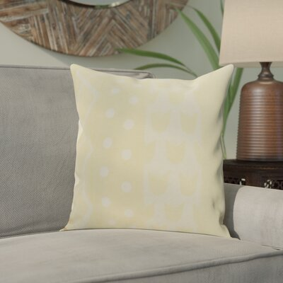Castleman Decorative Throw Pillow Color: Yellow, Size: 18 x 18