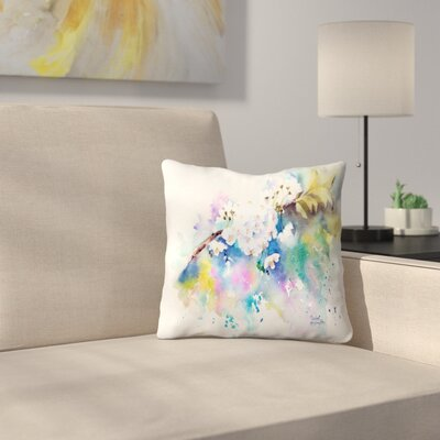 Spring Blossom Throw Pillow Size: 14 x 14
