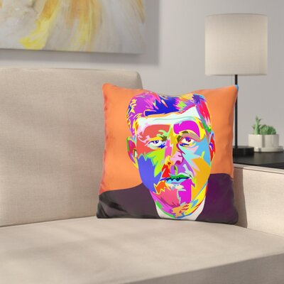 John F Throw Pillow