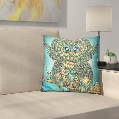 God Owl of Dreams Throw Pillow