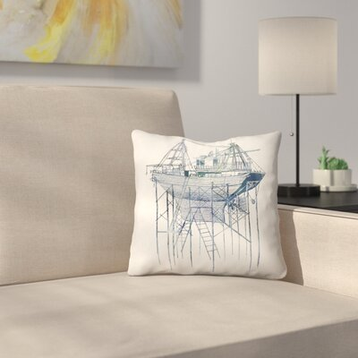 Dry Dock 2 Throw Pillow Size: 14 x 14