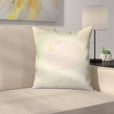 Pink Abstract Throw Pillow Size: 18 x 18
