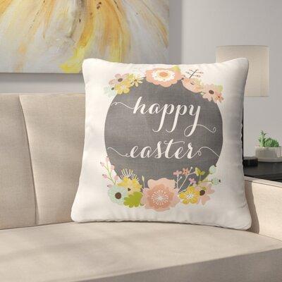 Pavlik Happy Easter Throw Pillow