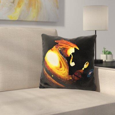 Sherlock Holmes Throw Pillow