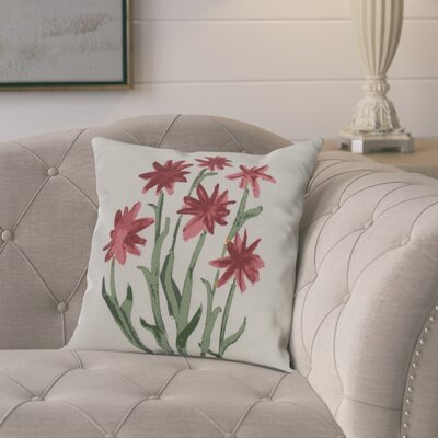 Laymon Decorative Throw Pillow Color: Rust, Size: 18 x 18