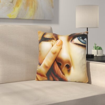 Awake Too Long Throw Pillow