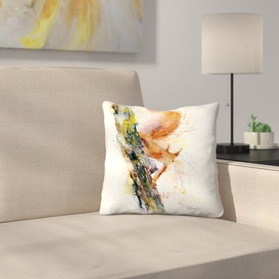 Squirrel 1 Throw Pillow Size: 16 x 16