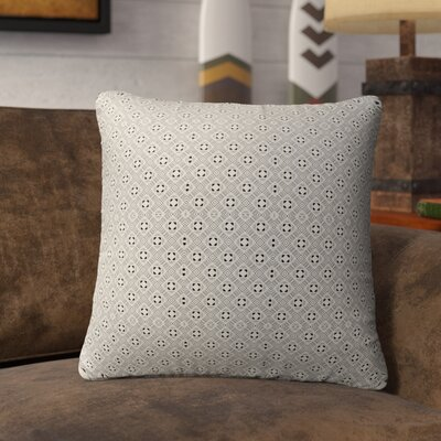 Liberty Street Indoor/Outdoor Throw Pillow Color: Black/Tan, Size: 18 H x 18 W